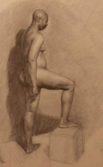 "Trevor, Graphite on Paper 18"" x 24"", 2011"