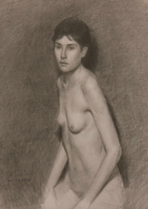 Nude Woman, Drawing