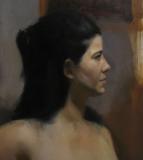 Meagan, painting