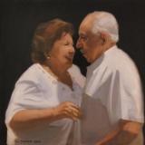 Mr. and Mrs. Vega, Painting