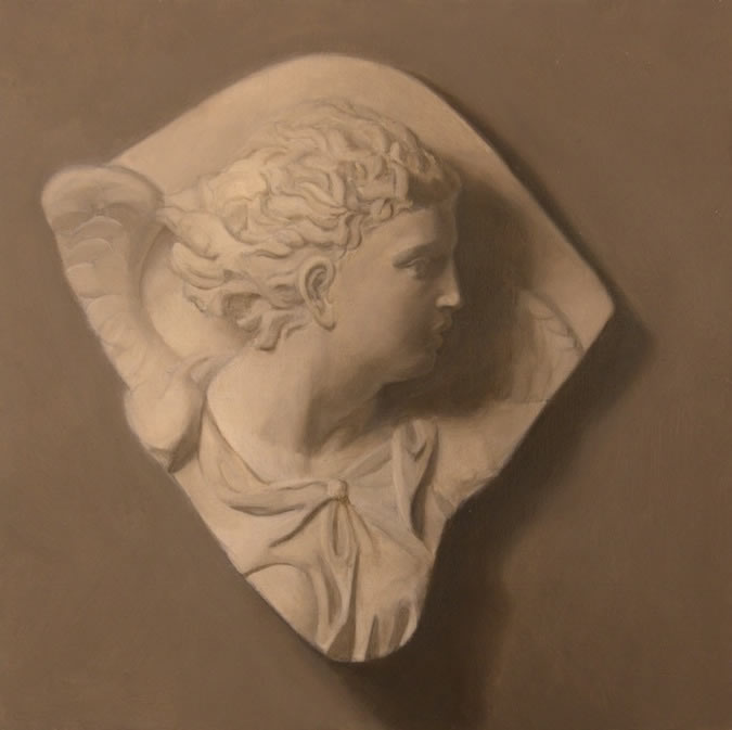 Angel Cast, Painting