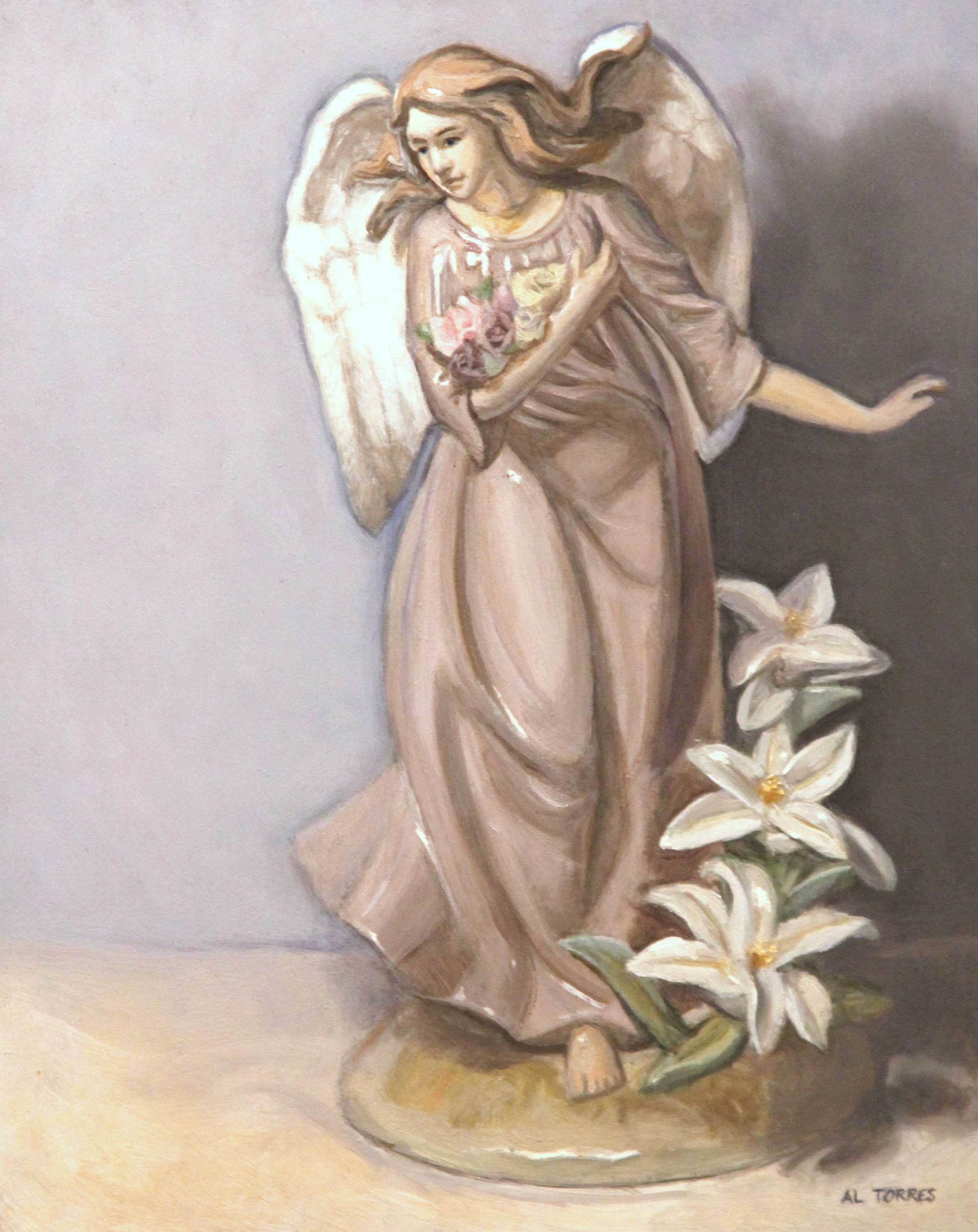 Angel ,painting ps2