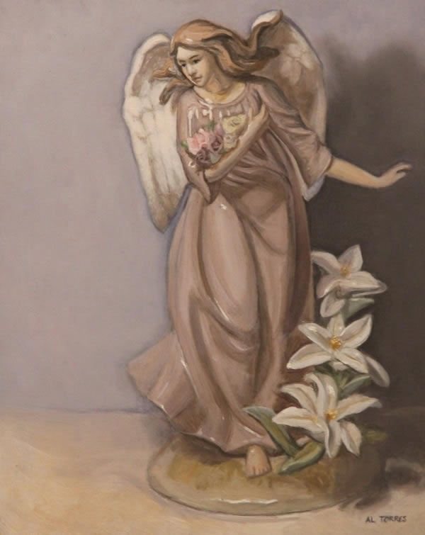Angel ,painting