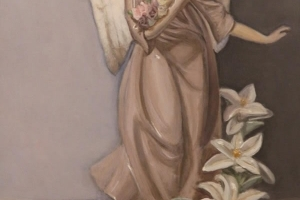 Angel ,painting