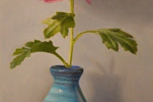 Radiant Dalia, painting